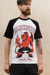 Devils Own Mens Baseball T-Shirt
