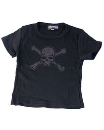 Distressed Skull T-Shirts Kids
