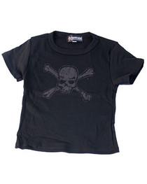 Distressed Skull T-Shirts Kids