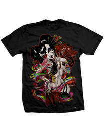 Geisha Fan T-Shirt