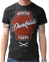 Genuine Parts Acid Wash Vintage T Shirt