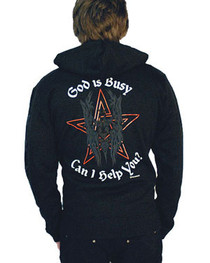 God Is Busy  Zip Hood