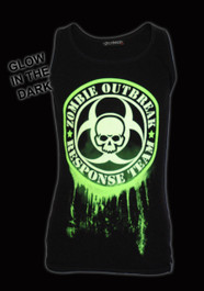 Green Glow In The Dark Zombie Response Beater Vest
