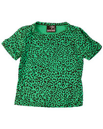 Green Leopard Kids T shirt