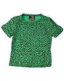 Green Leopard Kids T shirt