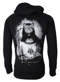 Hail Lucipurr Cotton Zip Hood