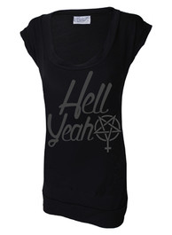 Hell Yeah Fitted T Dress