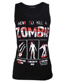 How To Kill A Zombie Beater Vest