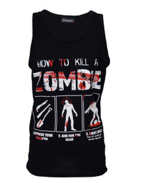 How To Kill A Zombie Black Vest