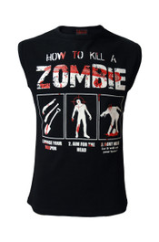 How To Kill A Zombie Womens Sleeveless Vest Top
