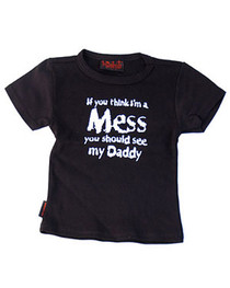 Im A Mess Kids T Shirt
