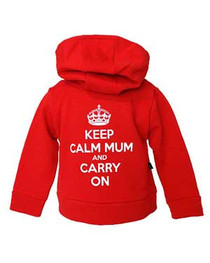 Keep Calm Mum And Carry On Baby Hood