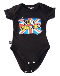 Kid Vicious Baby Grow