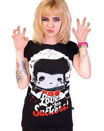 Love Is For Suckers Womens T Shirt