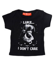 Luke I Dont Care Baby T Shirt