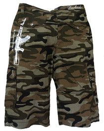Mens AK47 Camo Shorts