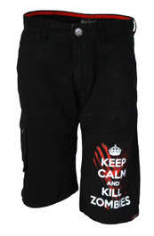 Mens Keep Calm Kill Zombies Shorts