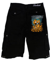 Mens Pumpkin Shorts