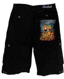Mens Pumpkin Shorts