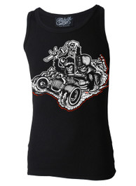 Monkey Business Black Beater Vest
