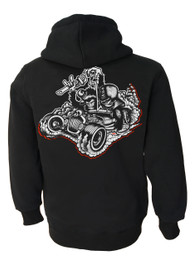 Monkey Business Pullover Hood