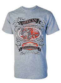 Moonshine Mens Grey T-Shirt