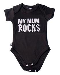 Mum Rocks Baby Grow