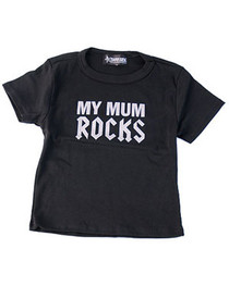 Mum Rocks Kids T Shirt