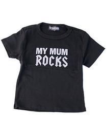 Mum Rocks Kids T Shirt