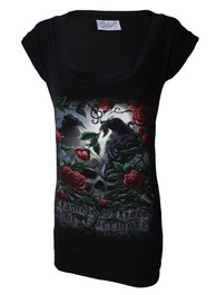 Nameless Crow Fitted T Dress
