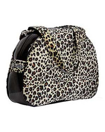 Natural Leopard Fur Handbag