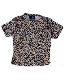 Natural Leopard Kids T Shirt