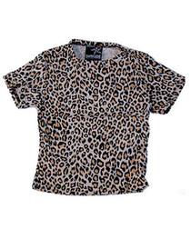 Natural Leopard Kids T Shirt