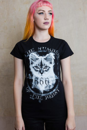 Number Of The Beast Womens T Shirt