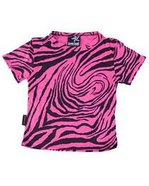 Pink Zebra Kids T shirt
