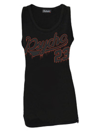 Psycho 23 Black Cotton Vest