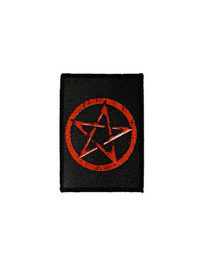 Red Penatcle Star Patch
