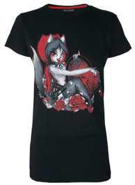 Red Riding Hood Womens T Shirt