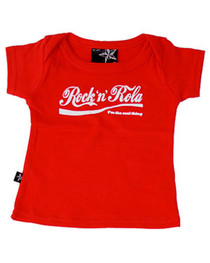 Rock n Rola Red Baby T shirt