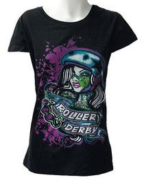 Roller Derby Womens T Shirt