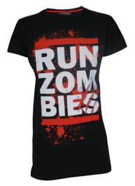 Run Zombies Womens T Shirt