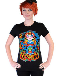 Russian Doll Womens T Shirt