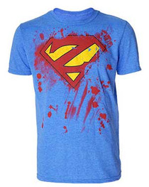 Super Zombie Light Blue T-Shirt