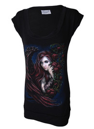 Tattoo Angel Fitted T Dress