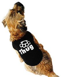 Thug Dog T Shirt