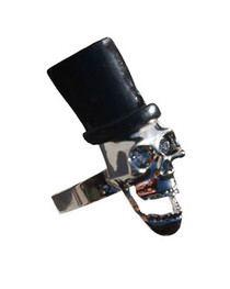 Top Hat Skull Ring