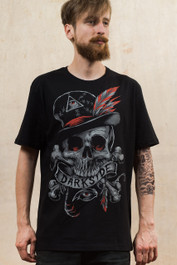 Voodoo Skull Darkside Mens T-Shirt