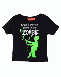 When I Grow Up Zombie Kids T Shirt