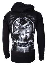 Witchcraft Star Cotton Zip Hood