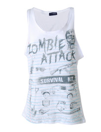 Zombie Attack Kit White Vest
